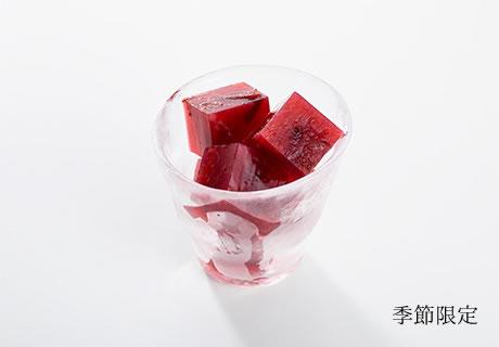 氷紫桃 ひやっとぷるーん
