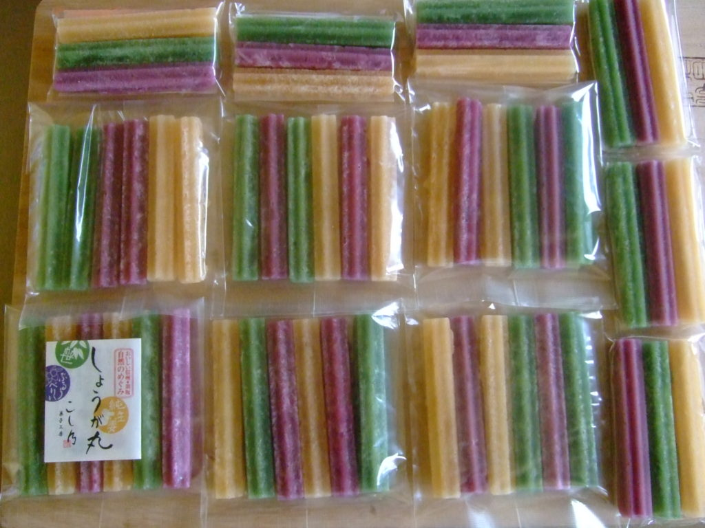 生姜糖、今季も3月末で終わります。